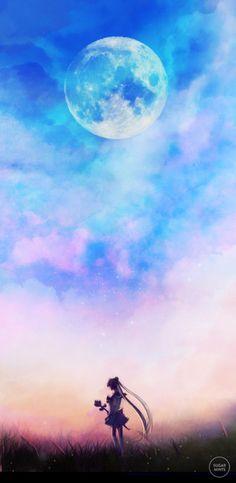 sugarmint-dreams:  Sailor Moon Fanart.