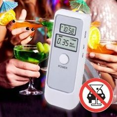 Alcoolímetro Digital