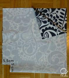 pour faire cet indispensable sac fourre-tout il vous faut: ✄✄✄ - un rectangle de tissu un peu épais de 42x84cm - 2 rectangles de 60x8cm...