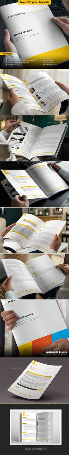Proposal Creative, Adobe and Project proposal - project proposal word template