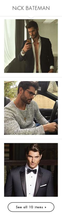 """""""NiCK BATEMAN"""" by one-lxttle-kiss ❤ liked on Polyvore featuring dnxcingclipped and nick bateman"""