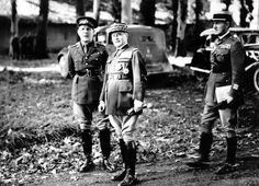 General Lord Gort VC and General Maurice Gamelin, French Commander-in-Chief, 1939