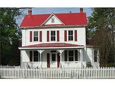 Grey Wall White Shutters And Can Keep The Red Roof This