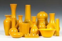 Yellow Peking Glass