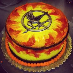 #Hunger_Games cake