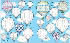 Hot air baloons from The Usborne Big Book of Drawing, Doodling and Colouring http://usborneonline.ca/catalogue/browse.asp?org=108319=1=1=A=ACCD=7017