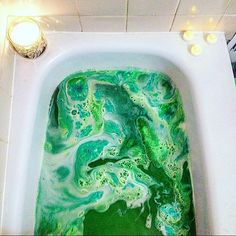 @klowey17's gorgeous #BathArt of the Guardians of the Forest Bath Bomb is our final winner this month!  We've loved seeing all of your beautiful bath art, and we hope to keep seeing it! We'll be keeping an eye on the #BathArt hashtag to watch your amazing creations.