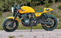 Suzuki GSXR 1200 Inazuma Cafe Racer by Yann La Cible #motorcycles #caferacer #motos | caferacerpasion.com