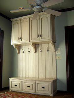 mudroom cabinet idea