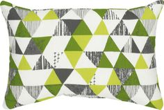"""Zane 20""""x13"""" Outdoor Pillow    Crate and Barrel"""