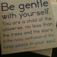 Be. Nice.