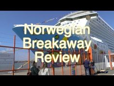 Norwegian Breakaway - Ship Tour and Review - Norwegian Cruise Line (HD)