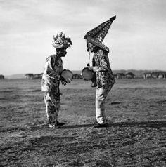 Guerreiros - Maceió/ Alagoas c. 1943 foto por Marcel Gautherot viaIMS