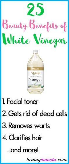 31 Best Uses for White Vinegar images