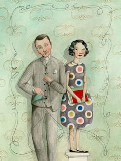 sophie blackall -  the tailor and the girl