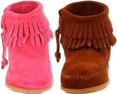 Kids moccasin shoes