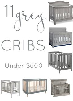 Furniture ideas for the Affordable Grey Cribs. Furniture ideas for the nursery. Grey Baby Cribs, Grey Nursery Boy, Grey Crib, Baby Boy Nurseries, Baby Nursery Ideas For Girl, Modern Nurseries, Nursery Room, Baby Boys, Baby Nursery Furniture