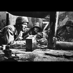 Pictured above are some German infantrymen taking cover in a house in southern Italy, on February 6, 1944. The infantry are waiting for the Stukas to do there work before they move up.