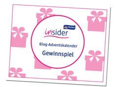 dm-Marken Insider - dm-Marken Insider Blog-Adventskalender Gewinnspiel
