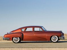 The Tucker 48 – 47 of the original 51 survive. This one recently sold at auction for $1,587,500.