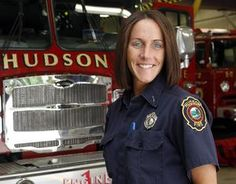 Judy Rice has been named the first female Fire Lieutenant for the town of Hudson.
