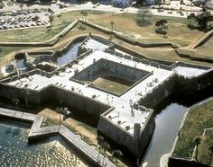 Castillo de San Marcos St. Augustine   This medieval fort, built in 1672, has been the scene of many bloody battles, and is now one of the most haunted places in America.