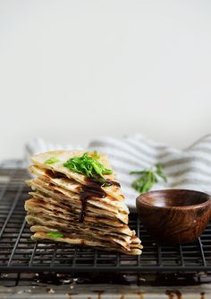 Extra crispy & flaky, lightly chewy Taiwanese Scallion Pancake. Savory ...