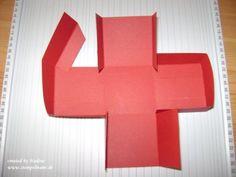 Anleitung / Tutorial einer Explosion Box oder Origami Box - Stampin Up! Bastelideen bei Stempelmami