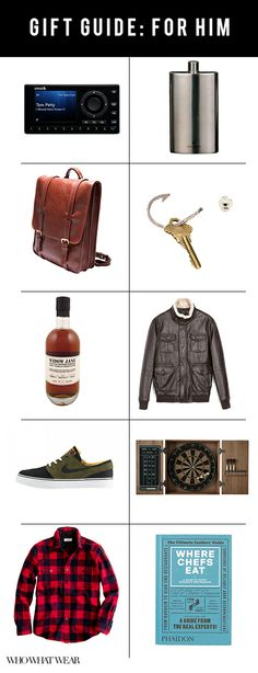 Gift Guide: What to Get Your Guy // Ideas for me!