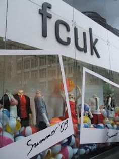 A love of Visual Merchandising - great for summer