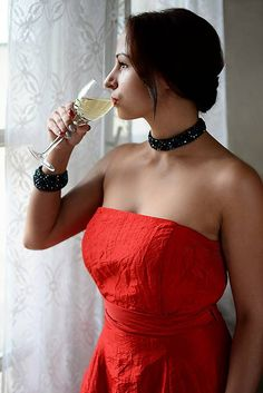 Ridgways / Woman in red - náhrdelník