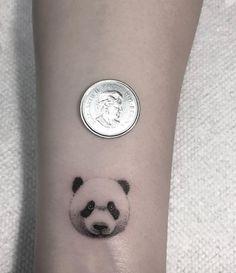 Panda tattoo by Zeke