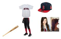 """""""Baseball Game"""" by shannonlala ❤ liked on Polyvore featuring INC International Concepts and American Needle"""