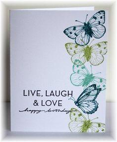 card - butterflies