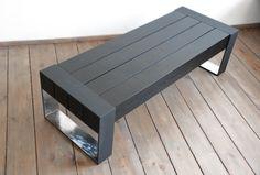 EL DIABLO Una mesa de centro madera maciza hechos por Poppyworkspl