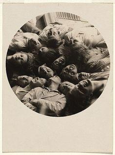 Lotte Stam Beese Group Portrait, Weaving Workshop at the Bauhaus, Dessau 1928