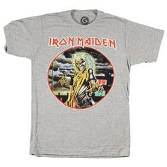Iron Maiden Killers Blended Soft Slim Fit T-Shirt