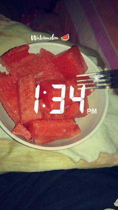 Watermelon 🍉 Instagram/lisbeth.tm Snapchat Time, Watermelon, Instagram, Daughter