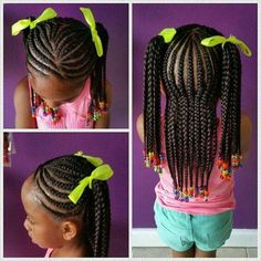 Little girl hairstyles and braids