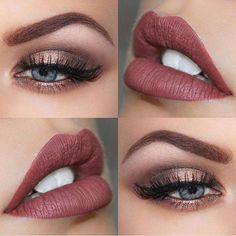 Amazing combo! @brookesimonsmua | #makeup