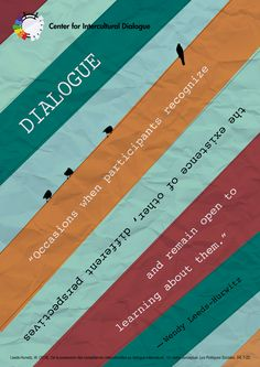 CID Poster #6: Dialogue Defined