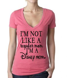Way better than a cool mom, a Disney mom! Perfect tee for any Disney loving mama! Shirts are Ladies Vneck style or Ladies racerback tank top. Disney 2017, Disney Diy, Disney Crafts, Disney Dream, Cute Disney, Disney Style, Disney Magic, Disney Cruise, Walt Disney