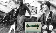Utterly tragic story 'Lady Icarus' - 1st to fly across Africa solo #DailyMail