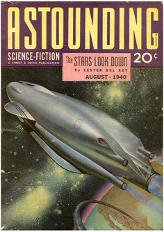 1940 - Astounding Science Fiction Cover