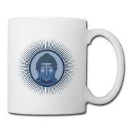 taza con la imagen de buda #cup #buda #coffee
