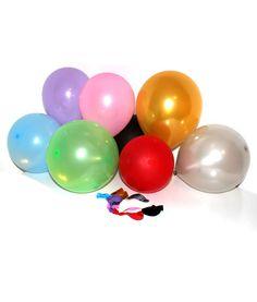 """20 stk. billige """"non toxic"""" mix balloner til børnefødselsdag"""