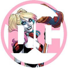 DC Logo for Harley Quinn ♔ Pinterest: YanaEaston ♔ - Visit to grab an amazing super hero shirt now on s Harley Quinn Comic, Bruce Timm, Dc Comics, Batman Comics, American Comics, Gotham City, Dc Universe, Batman Comic Books, Puddings