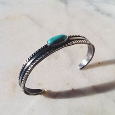 Turquoise and silver by nick lundeen