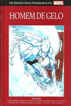 HOMEM DE GELO - 47 I Os heróis mais poderosos da Marvel