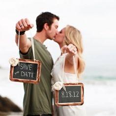 """Cute """"save the date"""" idea!"""